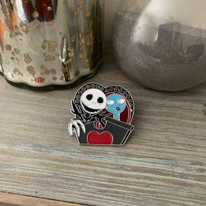 Jack skeleton & Sally pin